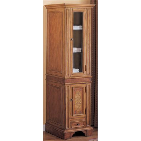 bathroom storage rialto curio cabinet by empire