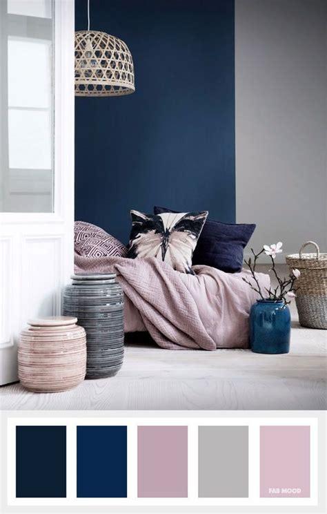 navy blue mauve  grey color palette projekty