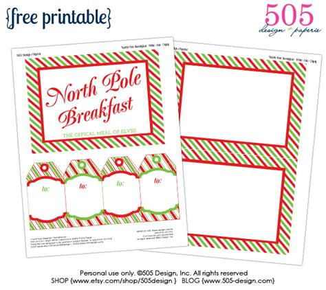 free printable elf on the shelf tags north pole notes august 2013