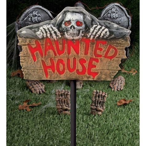 light up haunted house decoration buy light up haunted house sign