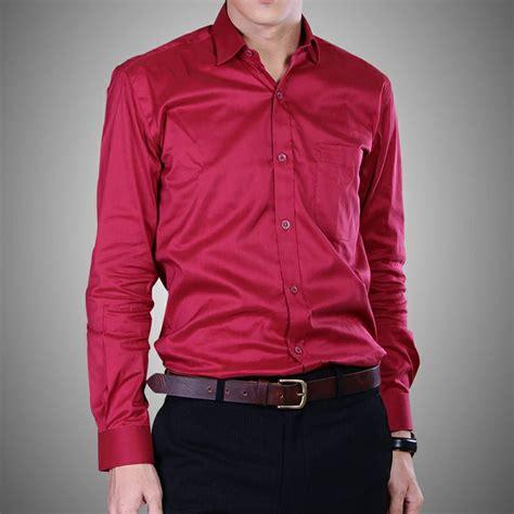 Kemeja Polos Wrana Chocolate kemeja slim polos warna merah kemeja slim