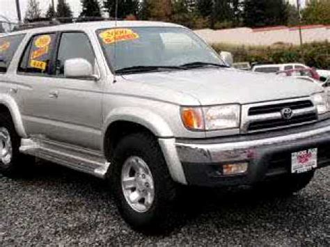 2000 Toyota Problems 2000 Toyota 4runner Problems Manuals And Repair