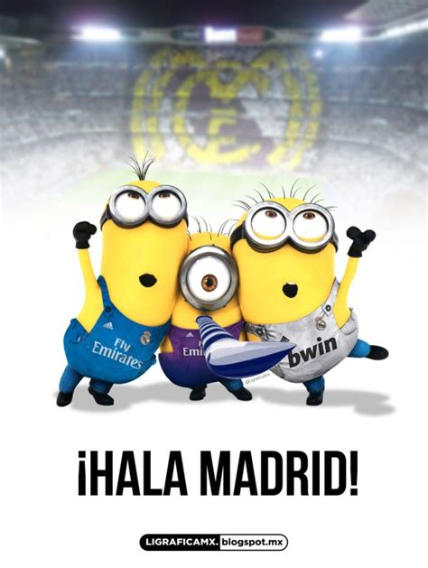imagenes del minion jerry minions hinchas del real madrid real madrid pinterest