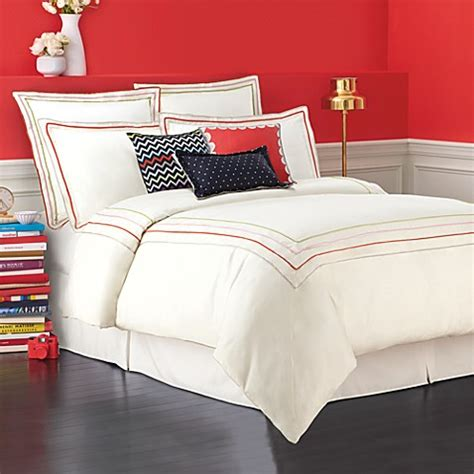 kate spade bedding kate spade new york brightwater avenue duvet cover 100