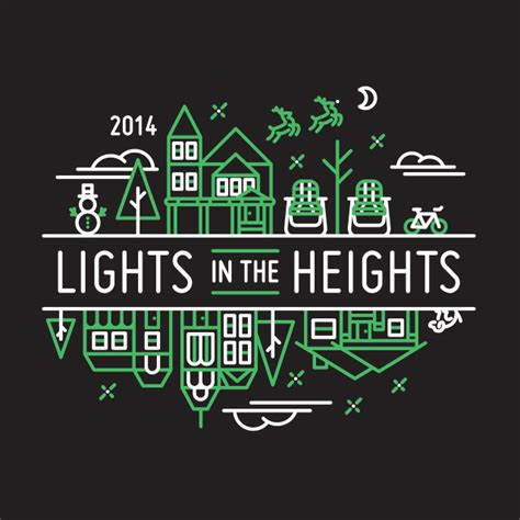 lights in the heights 2014 lights in the heights logo design by tm
