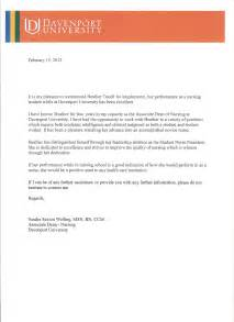 Nursing Letters Of Recommendation by Certificates Awards And Reference Letters Nursing Portfolio