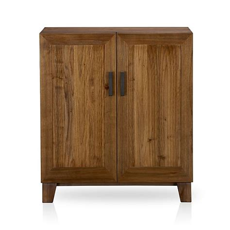 marin bar cabinet crate and barrel