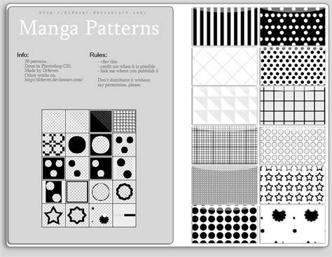 Patterns Photoshop Manga | free manga patterns by missdidichan on deviantart