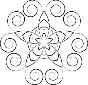 clipart simple floral design