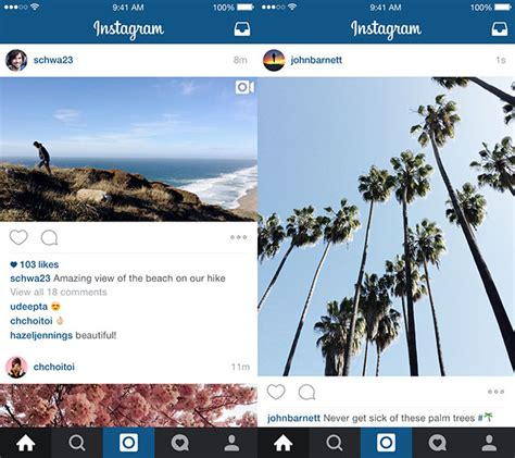 format video on instagram instagram now supports landscape and portrait format photos