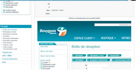 format email bouygues messagerie bbox maman130