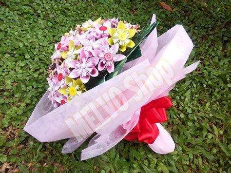 Buket Bunga Mutiara Murah 12 harga bunga kertas palsu kawat imitasi diy kado unik bagus elegan murah id priceaz