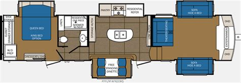 Forest River Fifth Wheel Floor Plans by 2015 Fifth Wheel Forest River Sanibel 3901