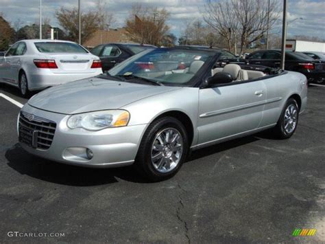 2004 chrysler sebring limited convertible bright silver metallic 2004 chrysler sebring limited