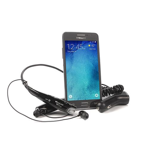 Headset Bluetooth Samsung Grand quot quot quot samsung galaxy grand prime tracfone 5 quot quot quot quot android smartphone with bluetooth headset car