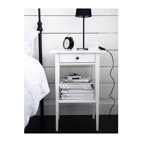 White Ikea Nightstand Ikea Hemnes Nightstand In White 45 Sold Uws Garage Sale