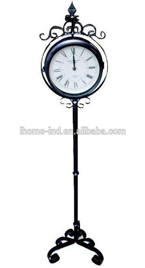 horloge exterieur etanche d 233 cor jardin m 233 tal au sol horloge d ext 233 rieur 233 tanche horloge horloge murale id de produit