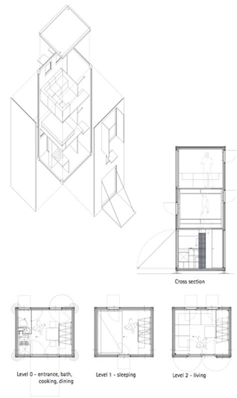 tiny portable home plans homebox 1 portable three story tiny house tiny house pins