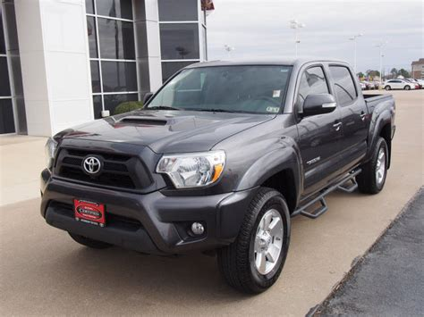 magnetic gray 2013 magnetic gray metallic toyota tacoma trucks