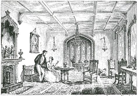 19th century Gothic Revival Homes and Furnishings in North America   Old House History   Part 3