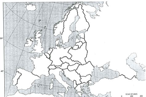 printable map europe 1914 blank map of europe after world war ii here are the