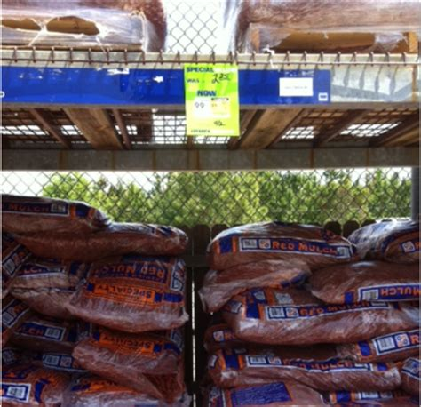 Lowes Or Home Depot Mulch Mulch For 99 162 A Bag At Lowes Who Said Nothing In