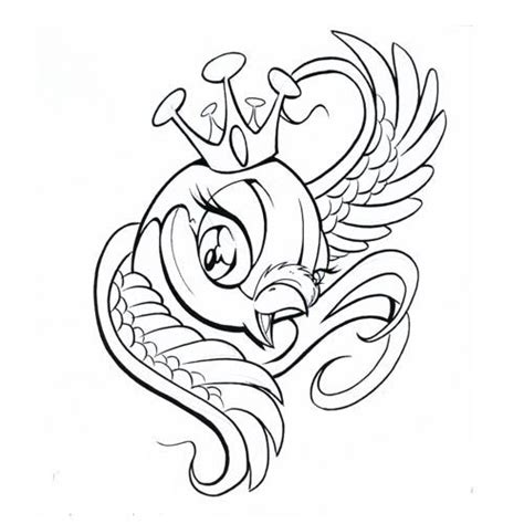 cartoon tattoo stencils 1000 images about birds on pinterest sparrow tattoo