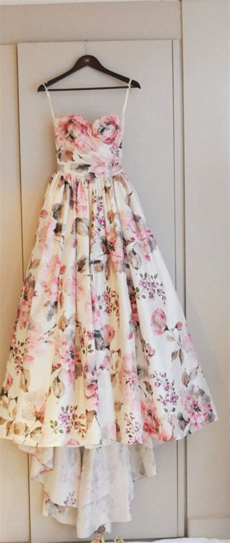 Dress Vintage Flower L gorgeous sweetheart pink embroidery flowers gown