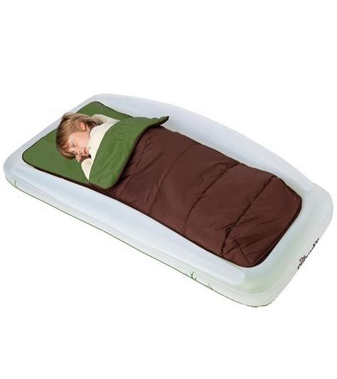 kids travel bed the shrunks tuckaire outdoor toddler travel bed
