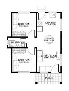 Small House Floorplan planta de casa com 4 c 244 modos e 1 banheiro a dica de hoje