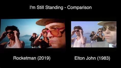 clever comparison  elton johns im  standing