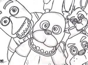 Coloring Pages Five Nights At Freddys » Home Design 2017