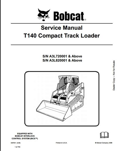 A Free Dating Service Guide Part 3 by Bobcat T140 Compact Track Loader Service Repair Workshop