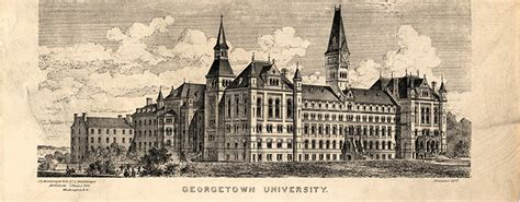 Mba Admissions Office Georgetown by Mission Statement And History Georgetown College