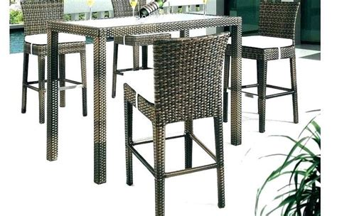 high top table with swivel chairs chairs outdoor bar table set height sets patio swivel