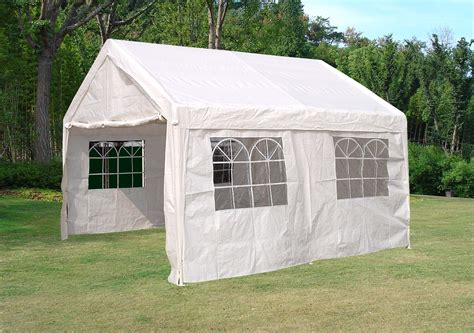 4x4 pavillon partyzelt zelt pavillon festzelt 4x4 meter planen pe weiss