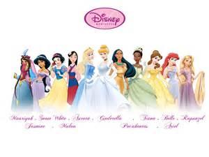 New disney princess line up disney princess fan art 16264947