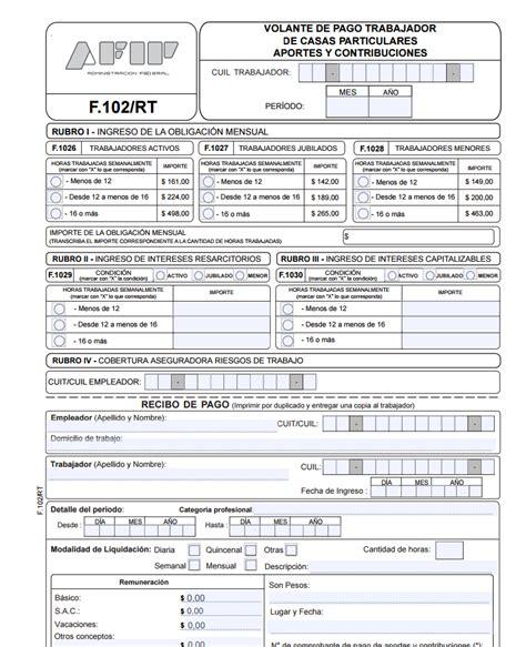 formulario f 4550 afip descargar formulario 102 rt afip zofti descargas