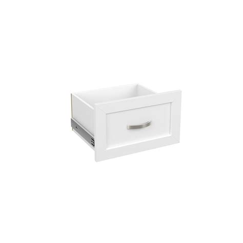 Closetmaid Drawers Home Depot by Closetmaid 16 In X 10 In White Decorative Drawer 4943