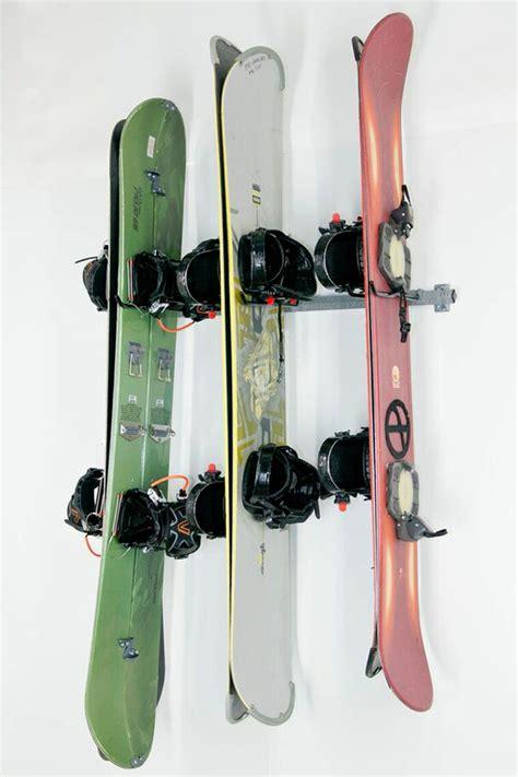 Snowboard Shelf by Snowboard Storage Rack
