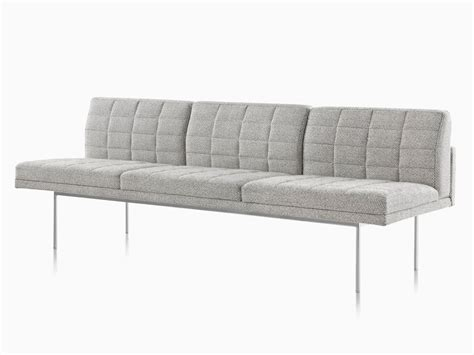 narrow profile sofa tuxedo sofas lounge seating herman miller