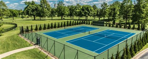 tennis courts tulsa country club