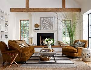 Modern living room with rustic accents several proposals and ideas