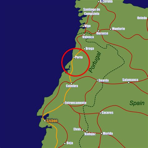 trains lisbon to porto porto rail maps and stations from european rail guide