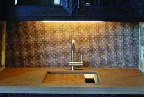 cork tile backsplash kitchen backsplash corks and kitchens on