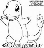Charmander Pokemon Coloring Pages Printable
