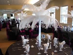 ostrich feather centerpieces feather ostrich diy wedding centerpieces car interior design