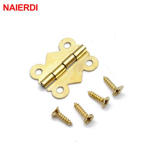 Drawer Hinge by 10pcs Naierdi 20mm X17mm Bronze Gold Silver Mini Butterfly