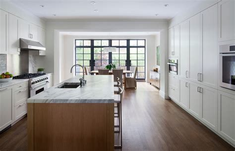 Nice Home Decorating Ideas the tall townhouse contemporary kitchen new york