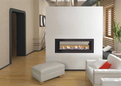 gas fireplace two sided 2 sided gas fireplace insert fireplace designs